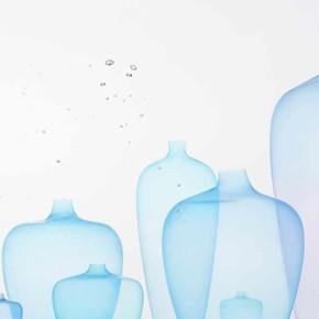 Medusa: jarrones de silicio ultra fino diseñados por Nendo