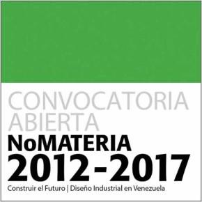 Vuelve NoMATERIA: convocatoria abierta, diseño industrial en Venezuela