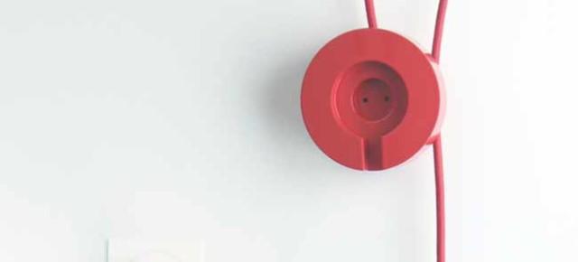 Priz: el cable de extensión del diseñador turco Erdem Selek