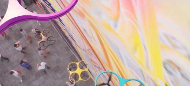 Paint by Drone: democratización del grafiti en la ciudad por Carlo Ratti