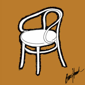 Thonet: thonet chair, 1848
