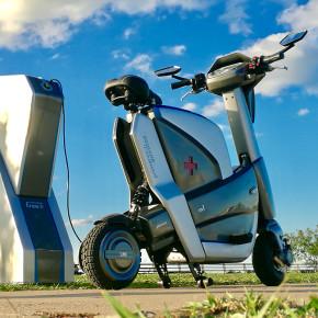 Mars M1: vehículo eléctrico de atención al público en Paraguay